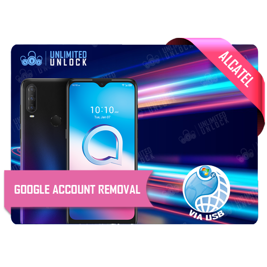 How to bypass FRP Google account verification for Alcatel phones