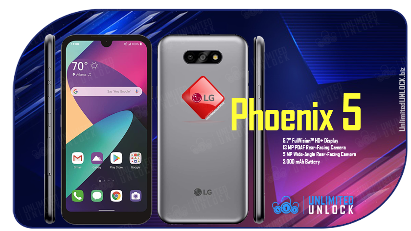 Factory Unlock LG Phoenix 5 [LM-K300AM] via IMEI Code or Remote USB