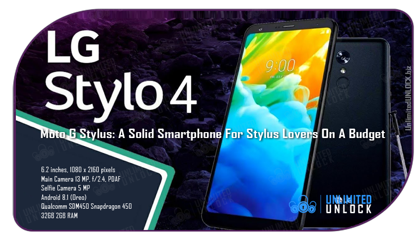 Factory Unlock LG STYLO 4 via IMEI Code or Remote USB