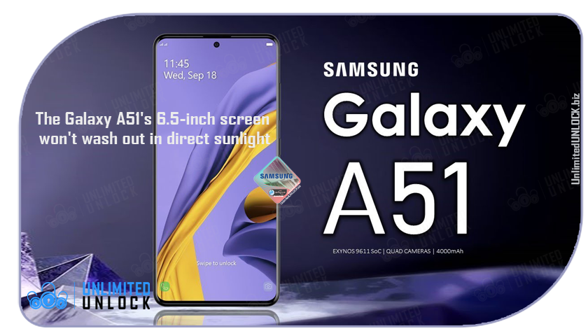 Factory Unlock Samsung Galaxy A51 5G (A516U) via IMEI Code or Remote USB