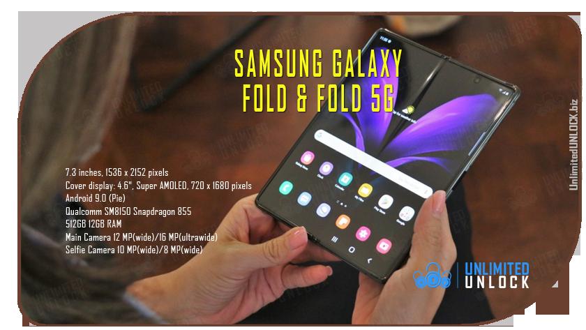 Factory Unlock Samsung Galaxy Fold F900U via IMEI Code or Remote USB