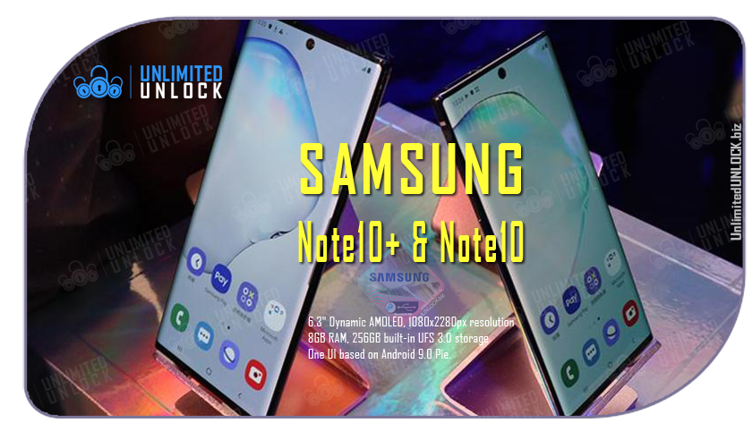 Factory Unlock Samsung Galaxy Note10+ and Note10 via IMEI Code or Remote USB