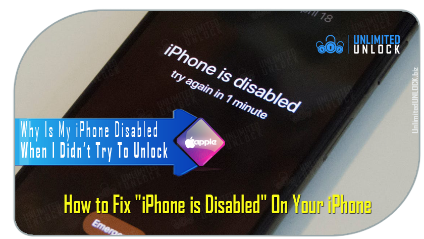 "How to Fix ""iPhone is Disabled, Try Again in X Minutes"""