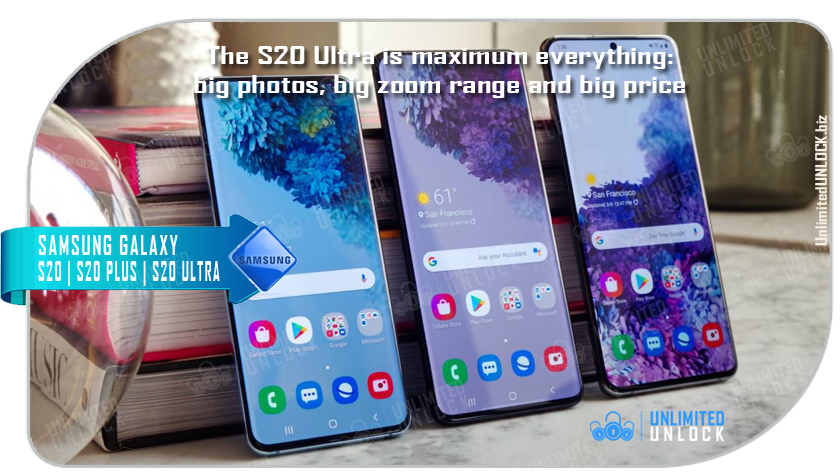 Factory Unlock Samsung Galaxy S20 | S20 Plus | S20 Ultra 5G via IMEI Code or Remote USB