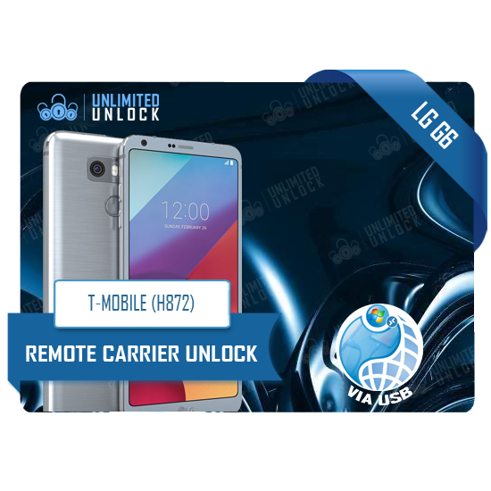 How to Factory Unlock T-Mobile LG G6 (H872) via Remote USB Carrier Unlock